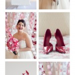 DIY Pinwheel Wedding Bouquet:  Maine Wedding Photography