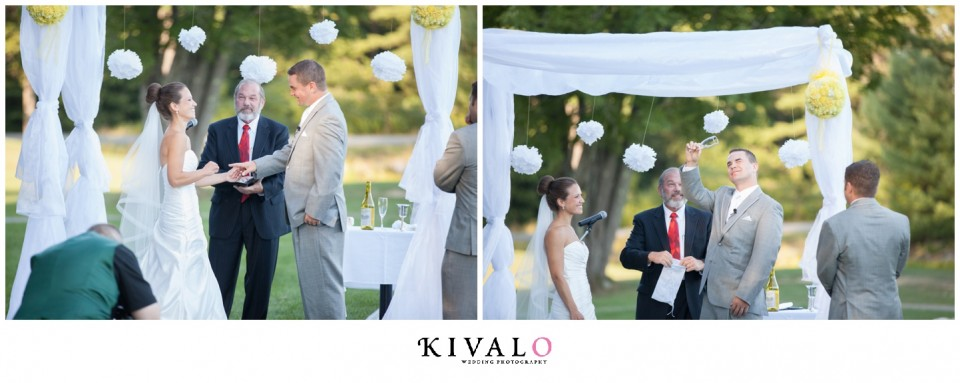 falmouth country club wedding photographer
