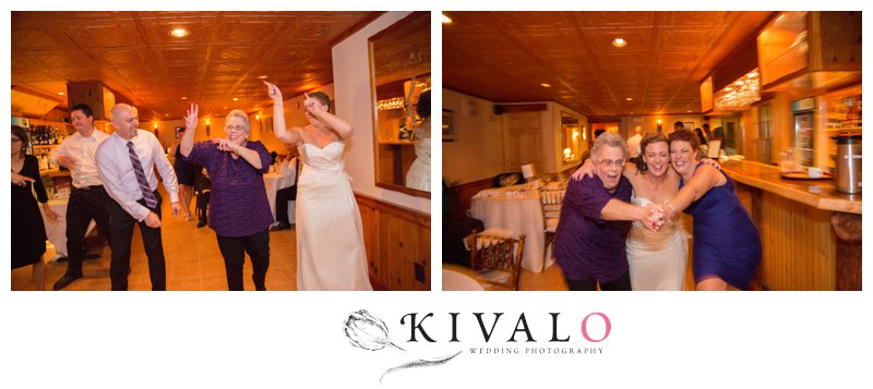 loon lodge wedding photos