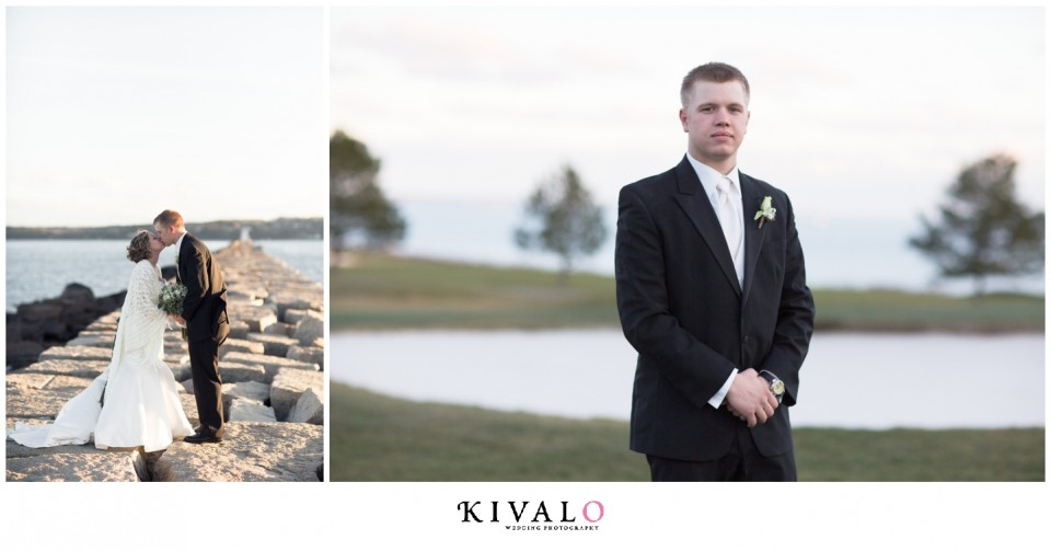 breakwater rockland maine wedding photographs