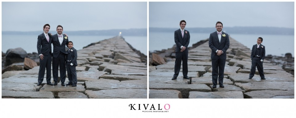 Breakwater Rockland Maine Wedding Photos