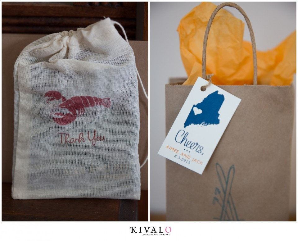 Local Maine Welcome Bags