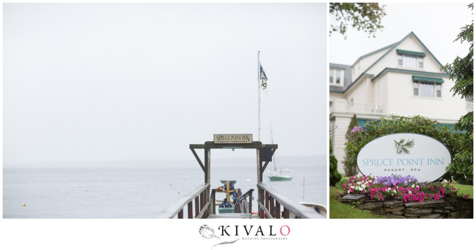 spruce point inn wedding photographer