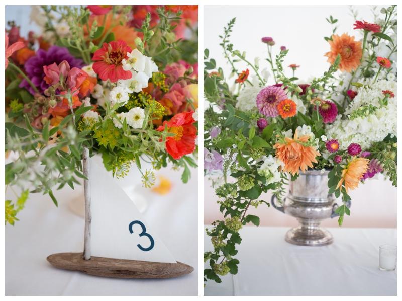 colorful wedding florals 2019 wedding trend