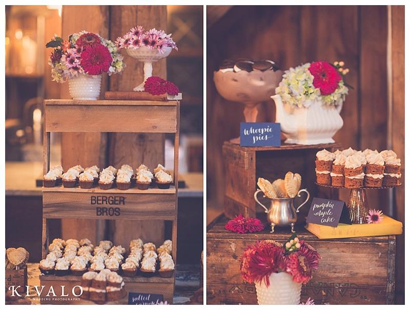 rustic dessert table ideas