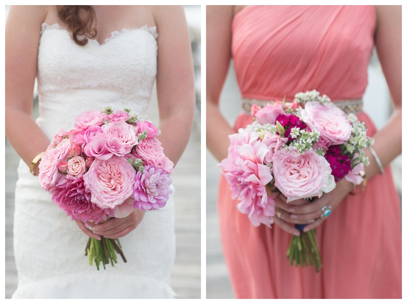 garden roses, dinner plate dahlias wedding florals