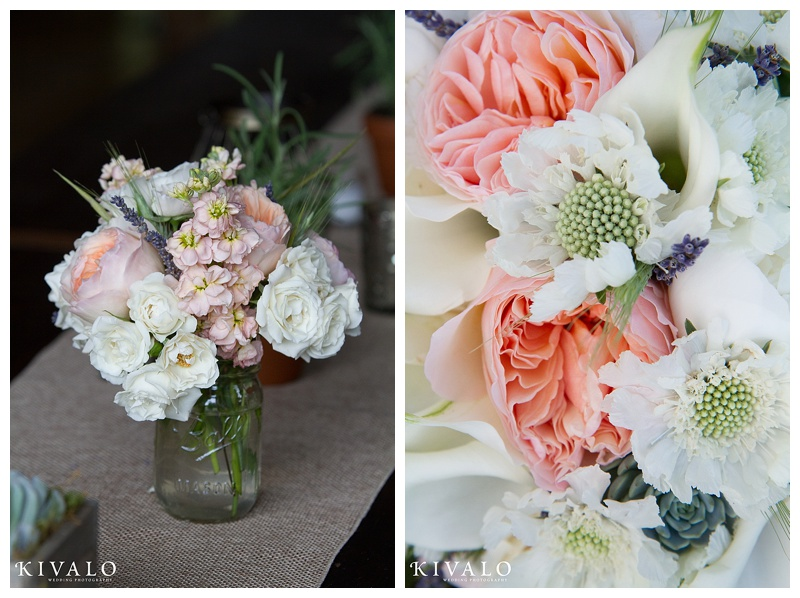 maine barn wedding flower ideas