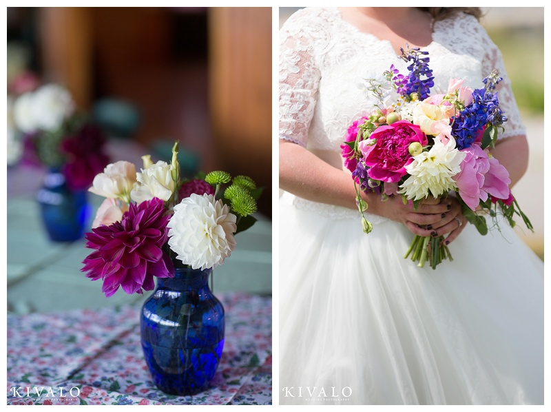 whimsical wedding flower ideas