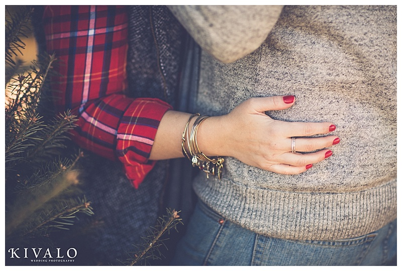 rustic j.crew inspired engagement session