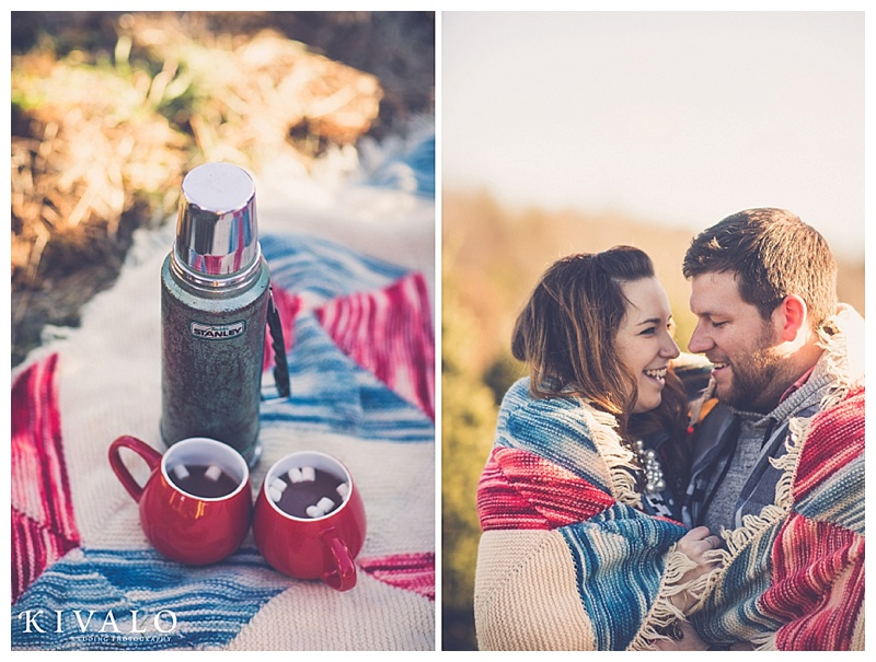 rustic engagement session ideas