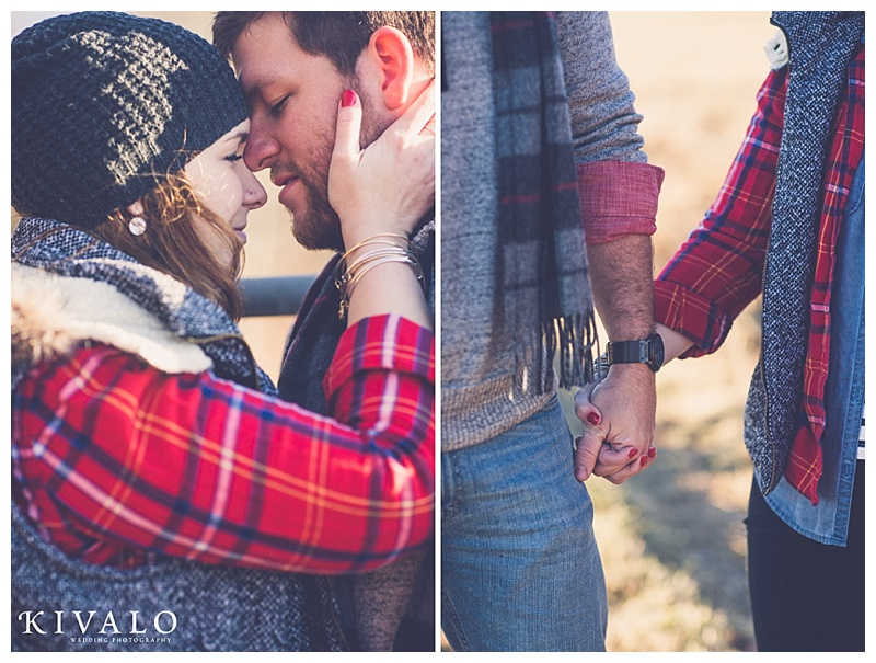what to wear for a winter engagement session