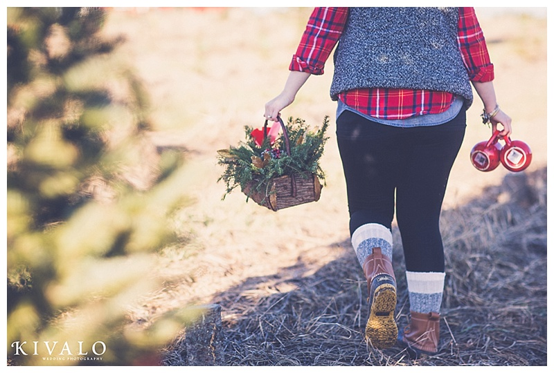LL Bean inspired engagement session ideas