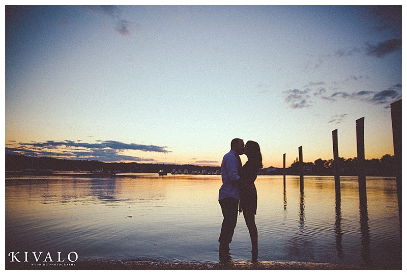 coastal maine engagement session ideas