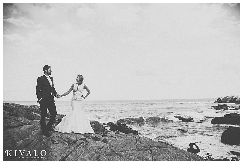 coastal maine wedding photo ideas
