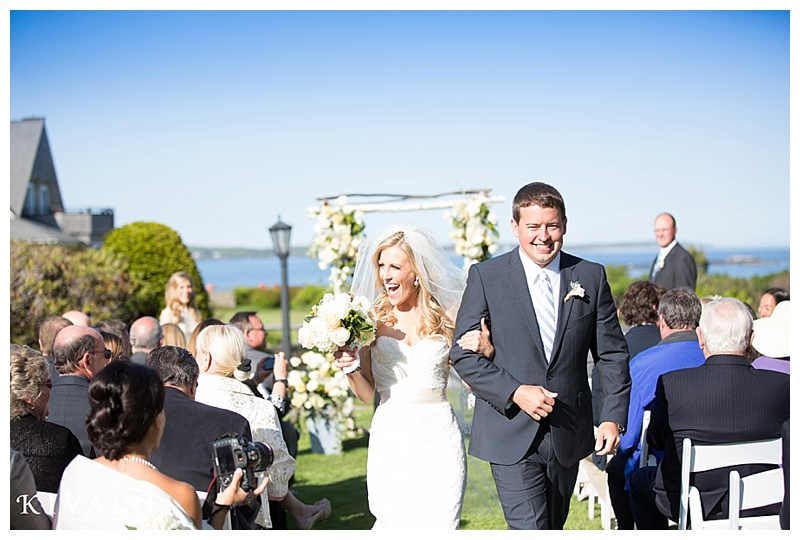 wedding at black point inn
