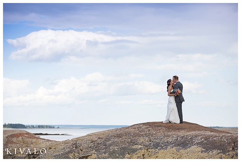 wedding in blue hill