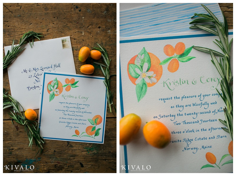 maine wedding invitations