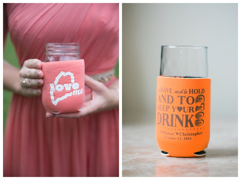 coozy wedding favors