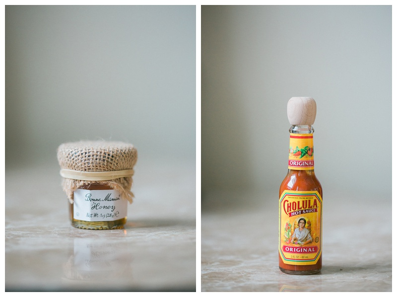 hot sauce wedding favors