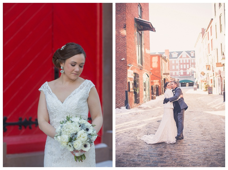 portland maine winter wedding