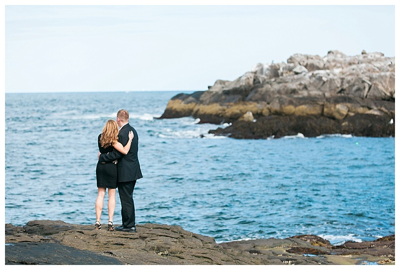 nubble light engagement session