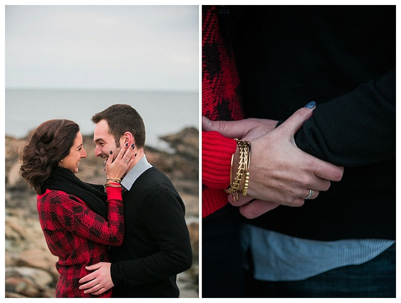marginal way ogunquit maine engagement session
