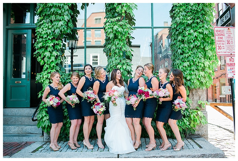 nautical bridal party