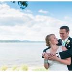 Colorful Lakeside Wedding