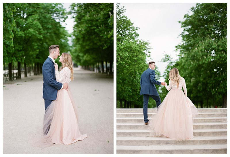 Fine Art Film France Wedding Photographer