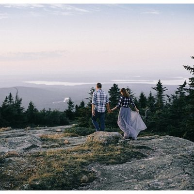 Anniversary Photos Acadia National Park