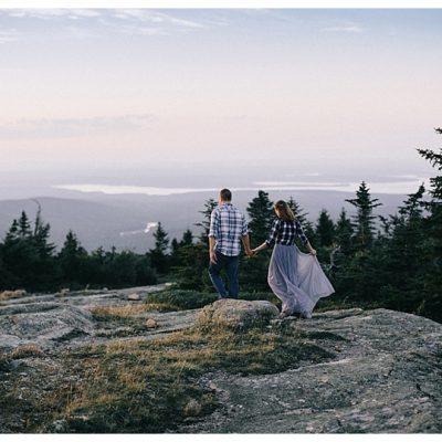 Anniversary Photos Acadia National Park