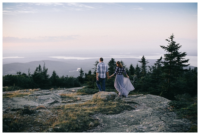Cadillac Mountain Maine Elopement