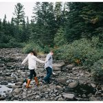 Moosehead Lake Engagement Photos