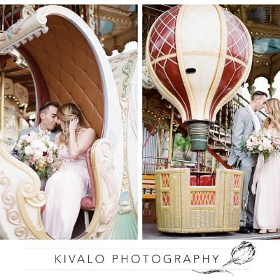 Carousel at the Eiffel Tower Anniversary Photos