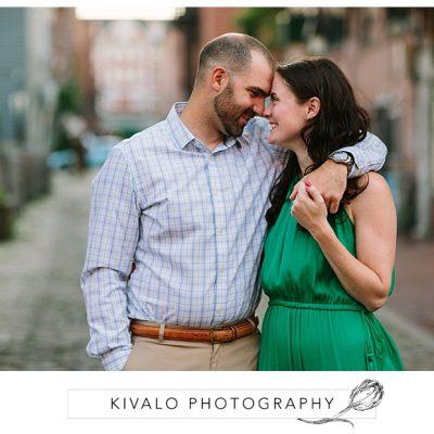 Portland Maine Engagement Photos