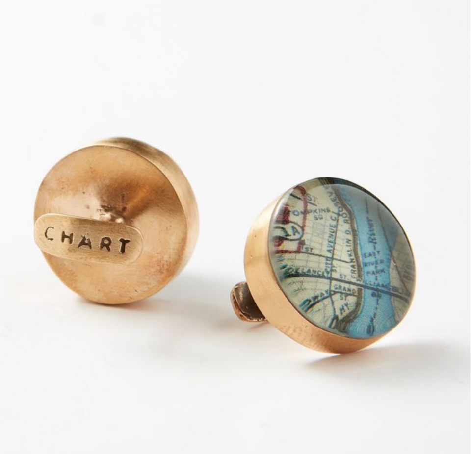 chart metalworks cufflinks for christmas