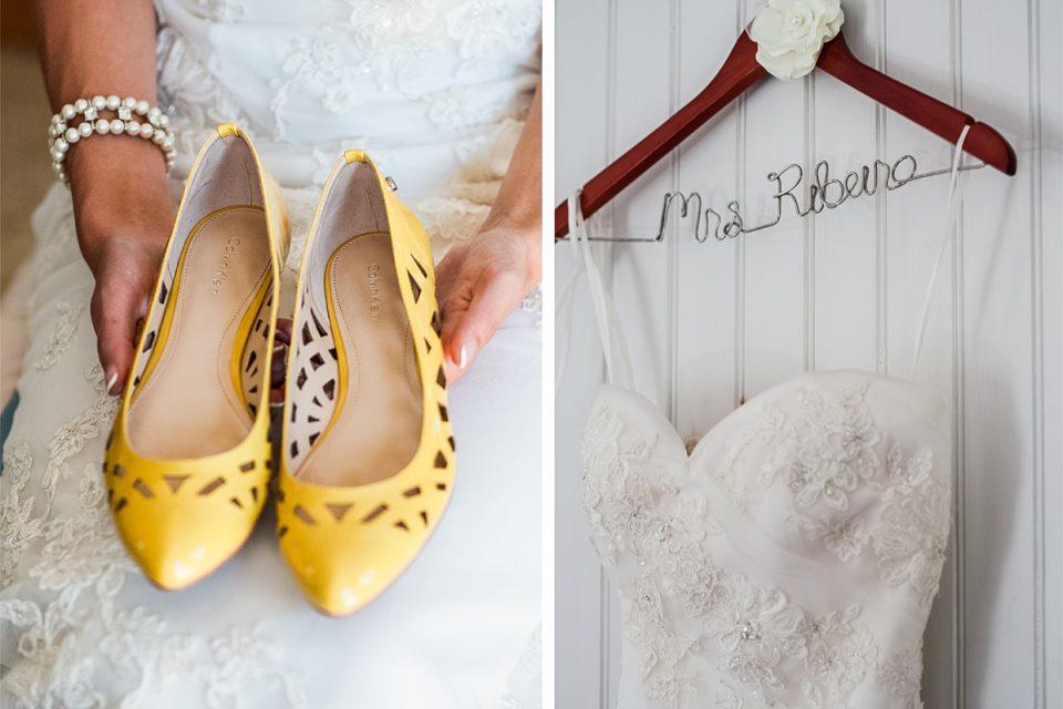 customized wedding hanger