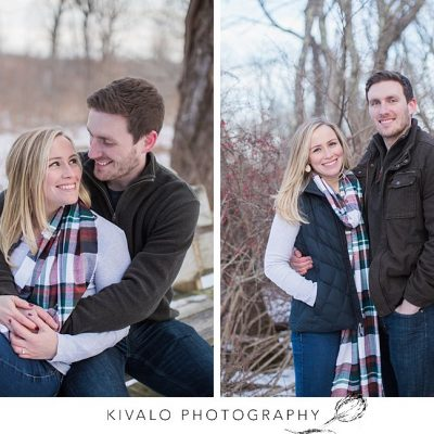 Laudholm Farm Winter Engagement