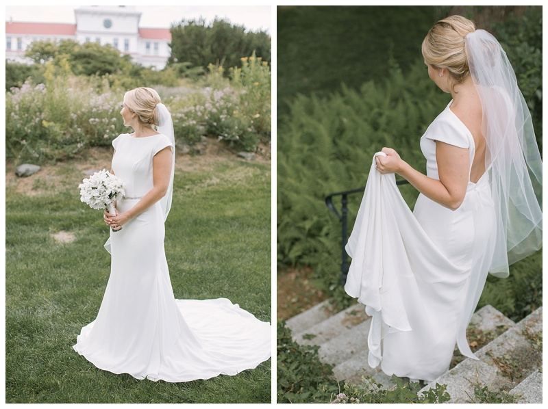 minimalist sleek sophisticated wedding dresses are a 2019 trend