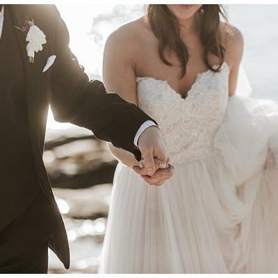 Dreamy Coastal Maine Wedding