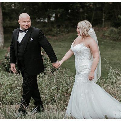Romantic New England Garden Wedding