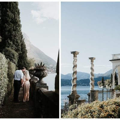 Lake Como Anniversary Photos
