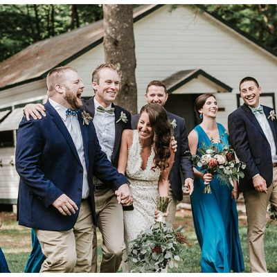 Summer Camp Wedding    Camp Birch Hill