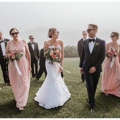 Foggy Nonantum Wedding